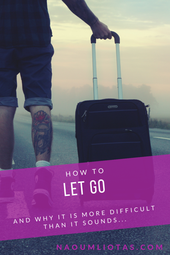 How to let go of baggage