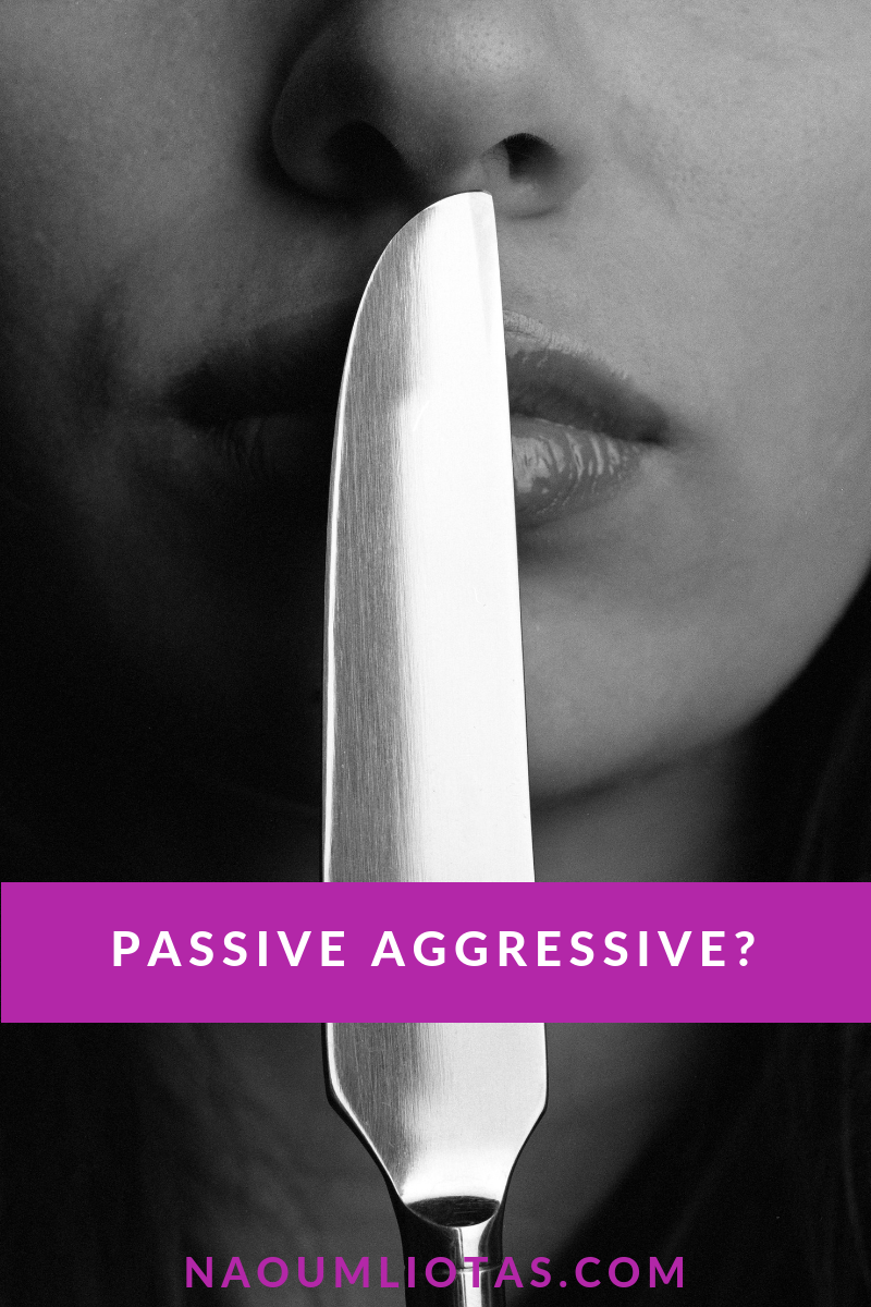 What is passive-aggressive behaviour?