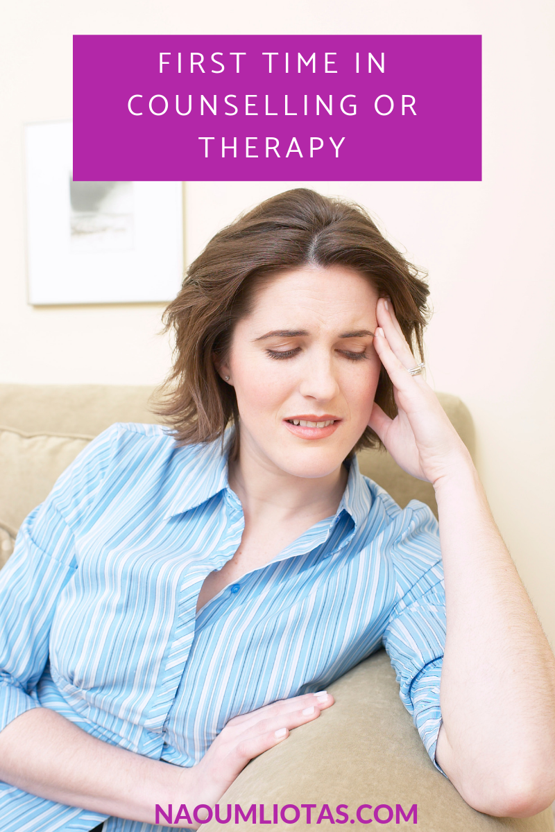 First Time in Therapy – What to know